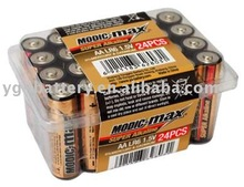 super alkaline battery .LR6 .AA. 24PB