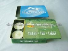 Slide Lid Candle Tin Box