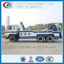 Chinese brand dongfeng wrecker towing truck 210HP for sales