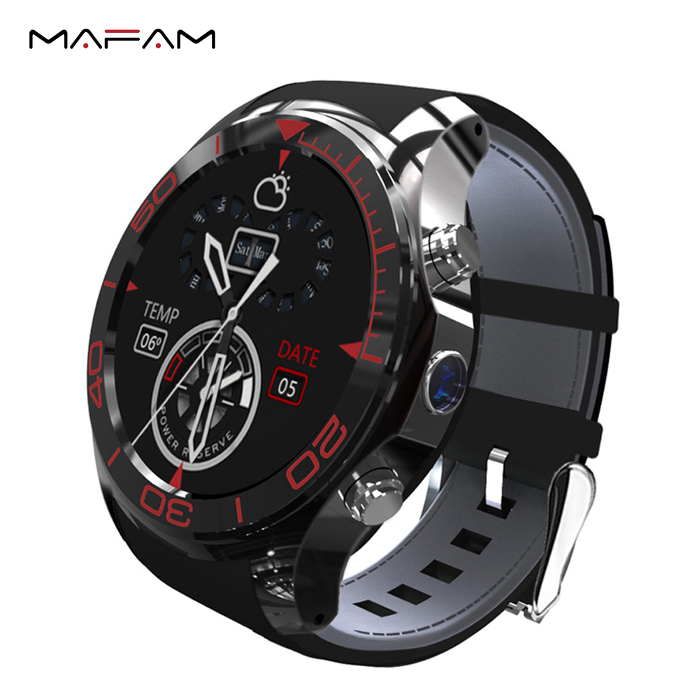 "Quad-core 1.2GHz 1.3"" MTK6572 Smart Watch Android 5.1 ROM/RAM 512MB / 4GB Smartwatch <strong>Phone</strong> 5.0 MP Camera WIFI GPS MAFAM MF2"