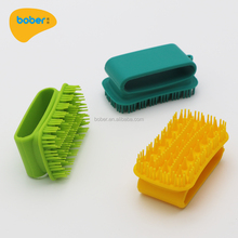 As Seen As On TV Ultra-Soft Silicone Pet Dog Cat Grooming Bath Brush Pet Hair Massage Brush Grooming Tool Comb For Grooming Bath