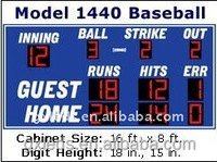 7 segment led baseball scoreboard remote digital scoreboard for sale