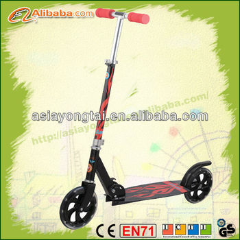 2 PU wheel scooter, good quality big adult scooter