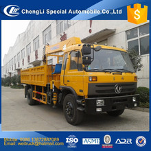 high performance 5 ton 6.3 ton 8 ton 10 ton crane mounted on truck for hot sale