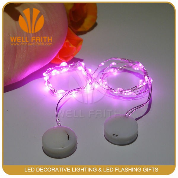 New 2M 20leds small LED Christmas light operated by coin battery, new Year Party Festival fairy string light