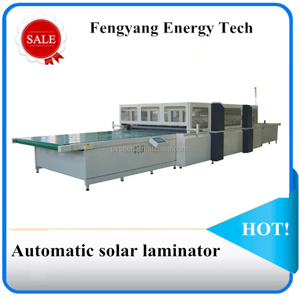 Full-automatic solar panel laminating machine, solar module laminator, PV laminator 2200*3600mm