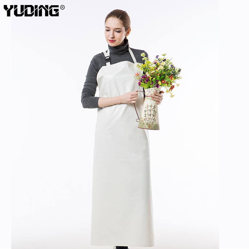 PVC Labour Protection Thicken industrial Waterproof kitchen apron for cooking
