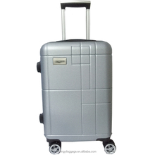 luxury man's business abs case 360 degree luggage trolley bag hard shell suitcase