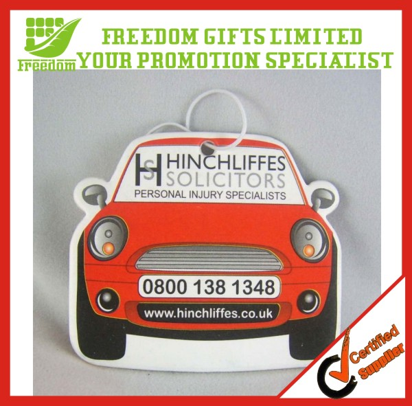 Customized Logo Car Shaped Car Air Freshener