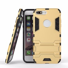 Hot sale shockproof hybrid case cover armor iron man phone case for iphone 7/7 plus