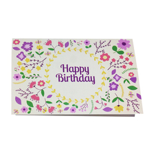 Attractive price new type sample birthday invitation card