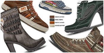 NEW DESIGN OF SHOES Photorealistic pantone designs of Shoes, Soles and Clothing