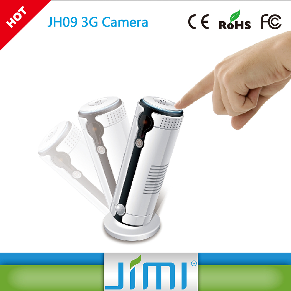 JIMI Wireless Iphone, IpadCCTV Camera Baby Monitor Support 32G sd card Wifi Indoor security