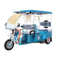 2018 China's new energy popular adult Foreign trade electric tricycle 48V1000W India Tusheng