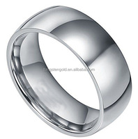 Stainless Steel Jewelry Factory Wholesale 316l Stainless Steel Ring Blanks High Polished & Comfirt Fit