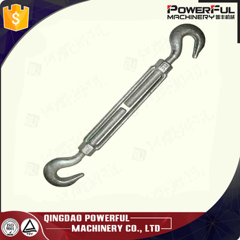 US Type Drop Forged Turnbuckle Hook and Hook Type Size 1/2 X 6