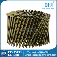 polished rod and screw thread volume nails coil nails in alibaba from china supplier