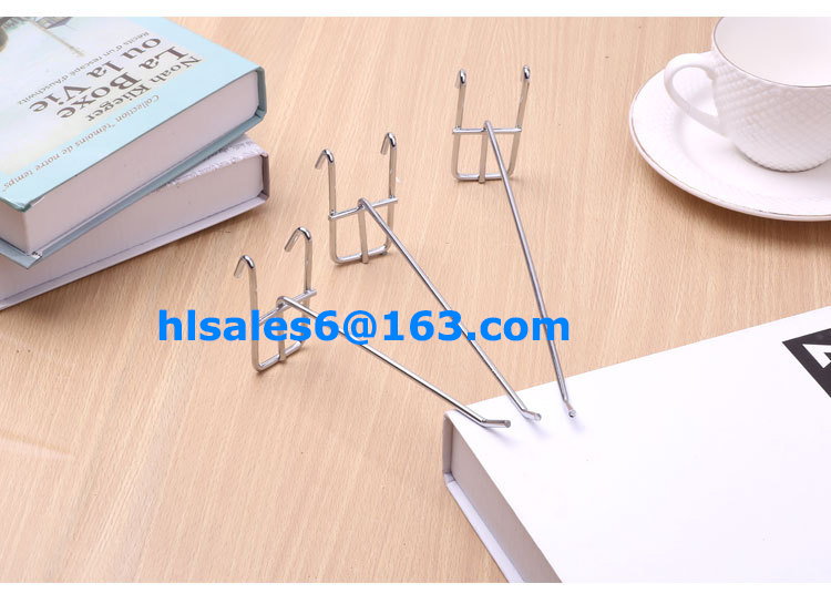 metal hanging hooks for grid panel
