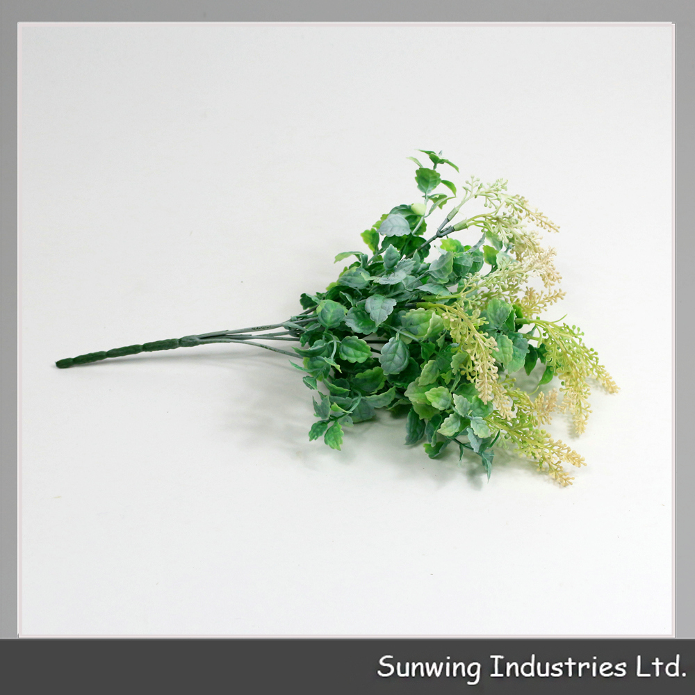 excellent touched greenery artificial ficus spray for home interior