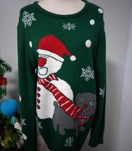 2018 customized Ugly christmas sweater Knitted sweater for christmas Used clothing sweaters