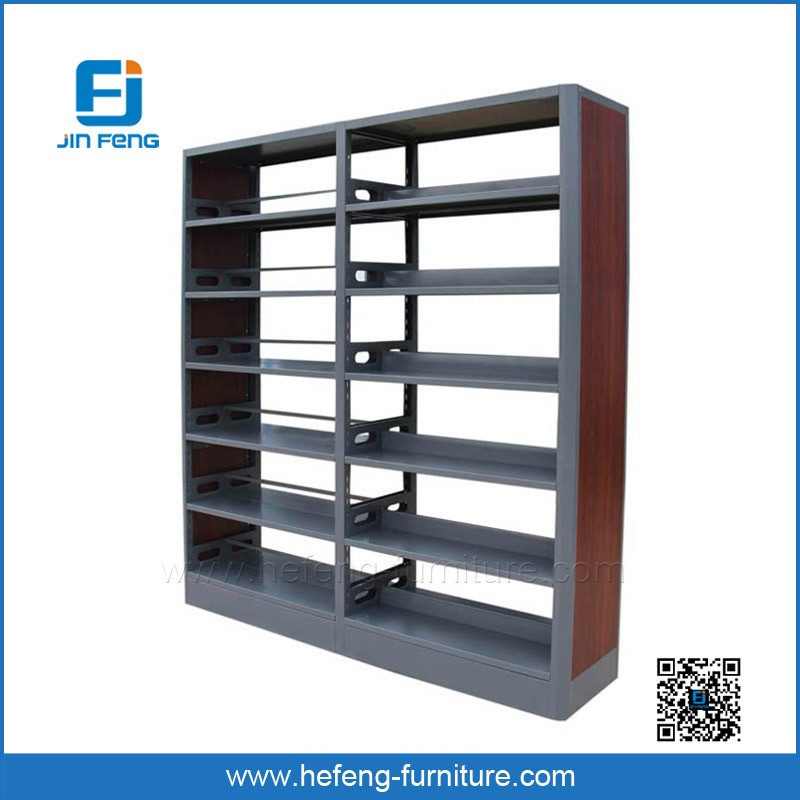 Book store modern book display rack cheap steel for Cheap book storage