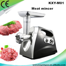ABS and aluminium alloy type electric meat grinder for home use