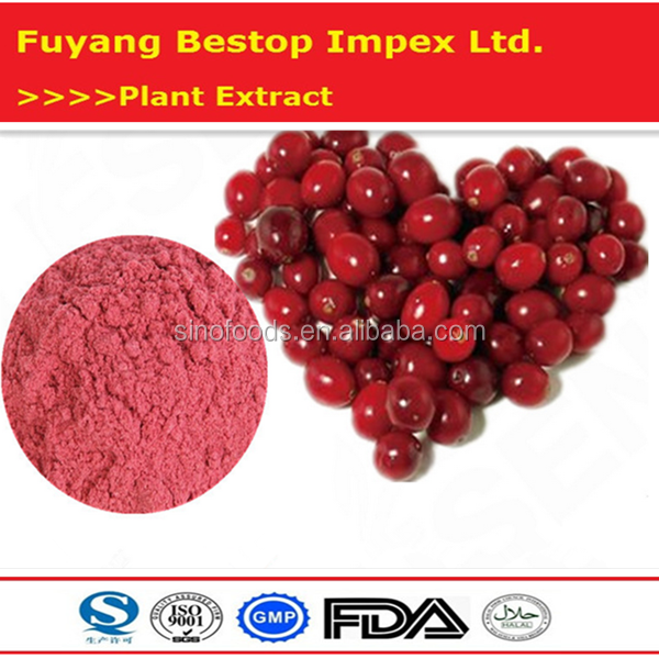 Man Yue Ju Food Supplement Raw Material Natural Cranberry Extract
