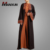High Quality Dubai Abaya Wholesale 2018 Fashion Beautiful Embroidered Design Kimono Abaya Elegant Long Sleeve Islamic Clothing