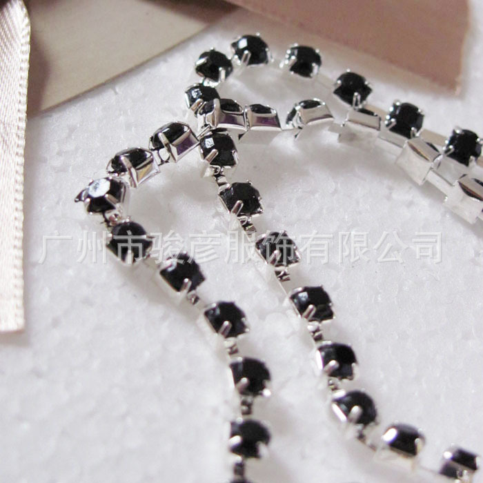 Decorative Fancy Rhinestone Underwear Accessories Shoulder Bra Strap,Shinny Rhinestone bra shoulder strap