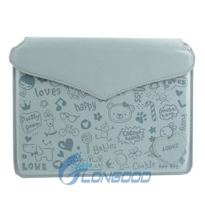 Cute Leather Case Protection Sleeve for iPad /for iPad 2 / for New iPad 3