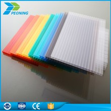 3mm bayer hollow polycarbonate pc sheet