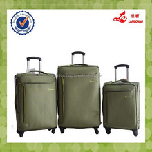 EVA Fabric Different Colors Spinner Wheels Trolley Suitacse Bag Alibaba China
