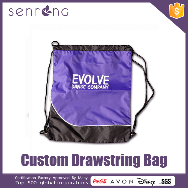 Non Woven Drawstring Shopping Bag Hand Embroidered Drawstring Bags