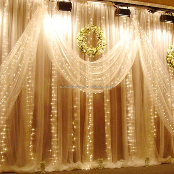 2M*3M Waterproof and connectable led curtain light for wedding or shopping mall decoration
