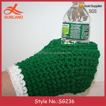 SG236 drink beer gloves mittens beer mitten knitting pattern knit beer mitten with bottom