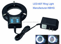LED-72T 72pcs LED ring light for microscope / microscope illuminator , microscope ring light, industrial ring light