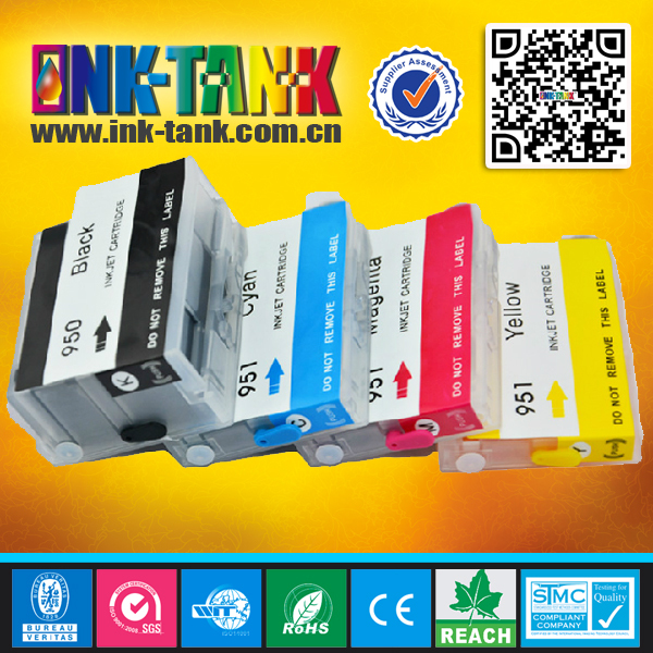 950xl / 951xl replace hp Officejet Pro 8100/ Pro 8600 refill ink cartridge with chip