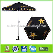 Market Umbrella with Crank Lift and Auto Tilt 7'-11' advertising promotional Umbrella