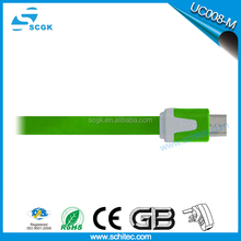 High quality white Color Mini USB cable # Shielded twisted pair mini B 5pin usb cable for wholesale