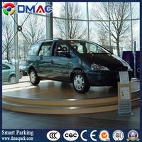 vehicle evolving stage; car showroom turntable; high capacity rotating platform for auto display