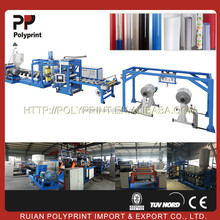 High output used pet sheet extrusion line