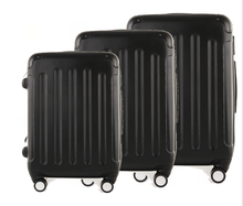 20 24 28 3-Pieces ABS Material Travel House Luggage Trolley