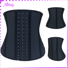 Hot selling latex underbust waist trainer slimming corset