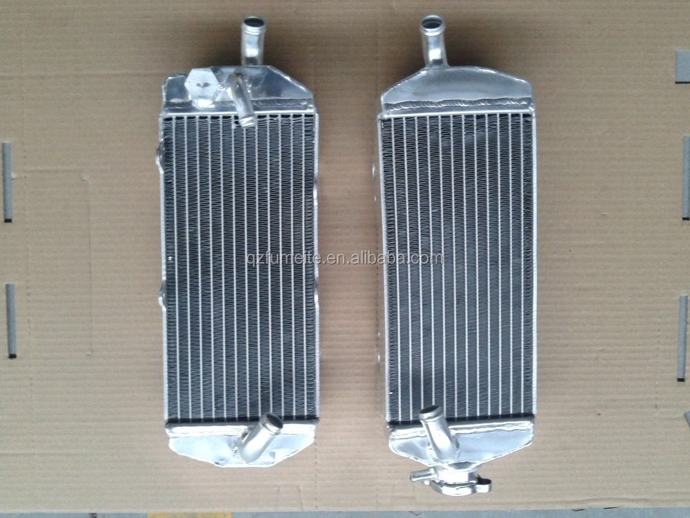 Motocross Bike Motorcycle Aluminum Radiator For KIT for KTM 400 450 525 SX/MXC/EXC 2003-2006 05 2004