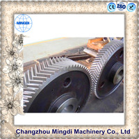 Helical Gear / Herringbone Gear Assembly Transmission Parts with Gear paper shredder
