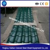 Popular Roofing Materials thermal insulation colored coated metal roofing tile, factory price roof tile