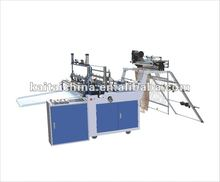 best quality nice price heat sealing & cool cutting bag making machine (without pulling)