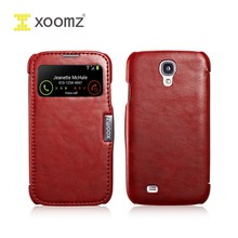 XOOMZ side-open leather case for SAMSUNG galaxy S4 i9500