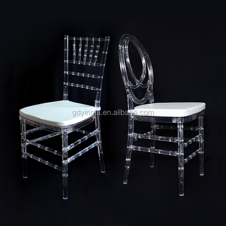Fashionable design wholesale resin chairs sillas banquet wedding chair