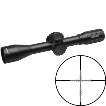 Marcool Hunting Riflescope, Optic Rifle Scopes 10X44 With Big Turret